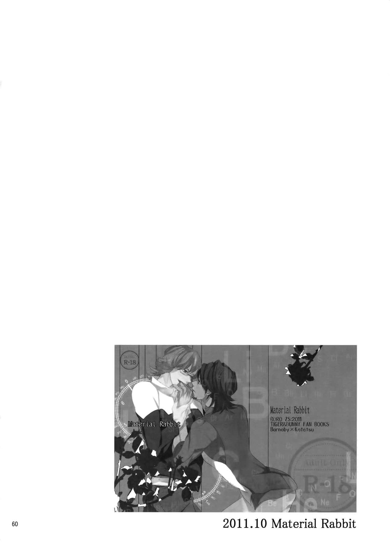 BOROZS Usagi Tora Sairoku 58