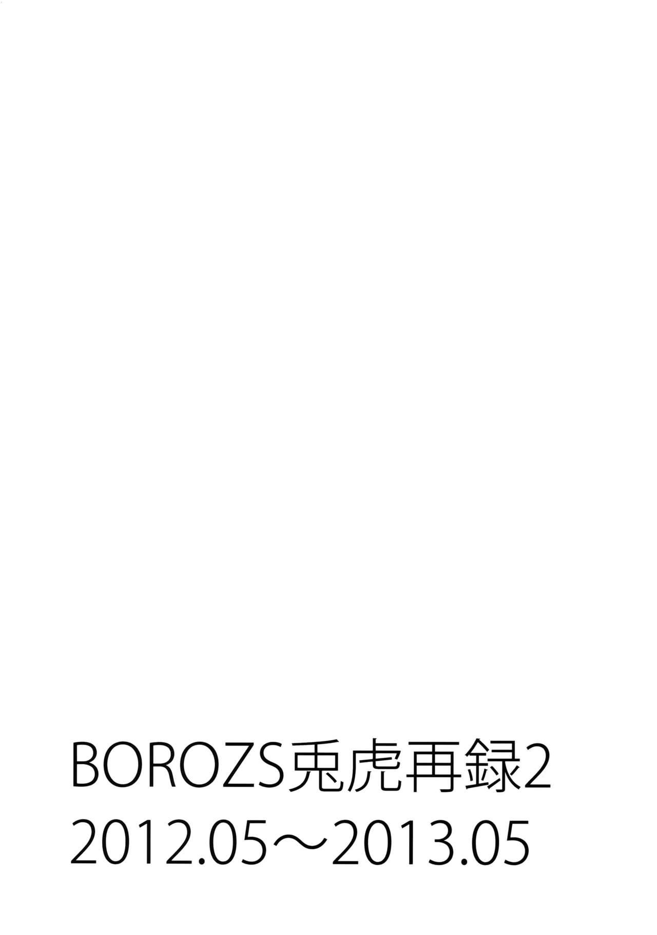 BOROZS Usagi Tora Sairoku 2 1