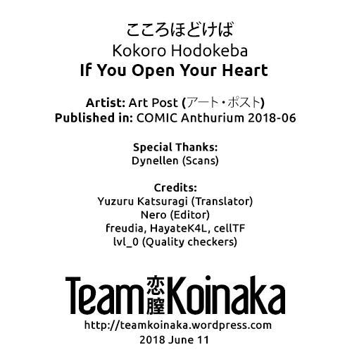 Kokoro Hodokeba | If You Open Your Heart 24