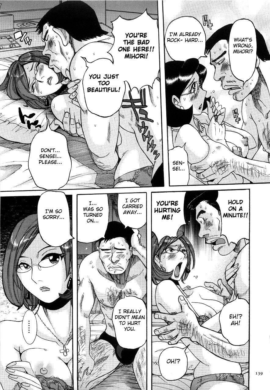 [Kojima Miu] Nympho Maman Boshi Soukan - Mama no Shikyuu wa Boku no Mono Ch. 1-7 [English] [Fated Circle] 141