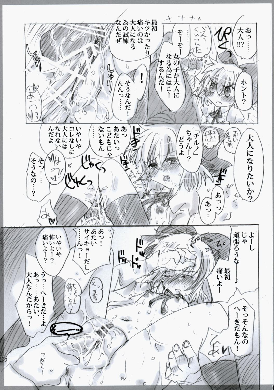 Touhou Shunga Hon - Hyousei Sounan 14
