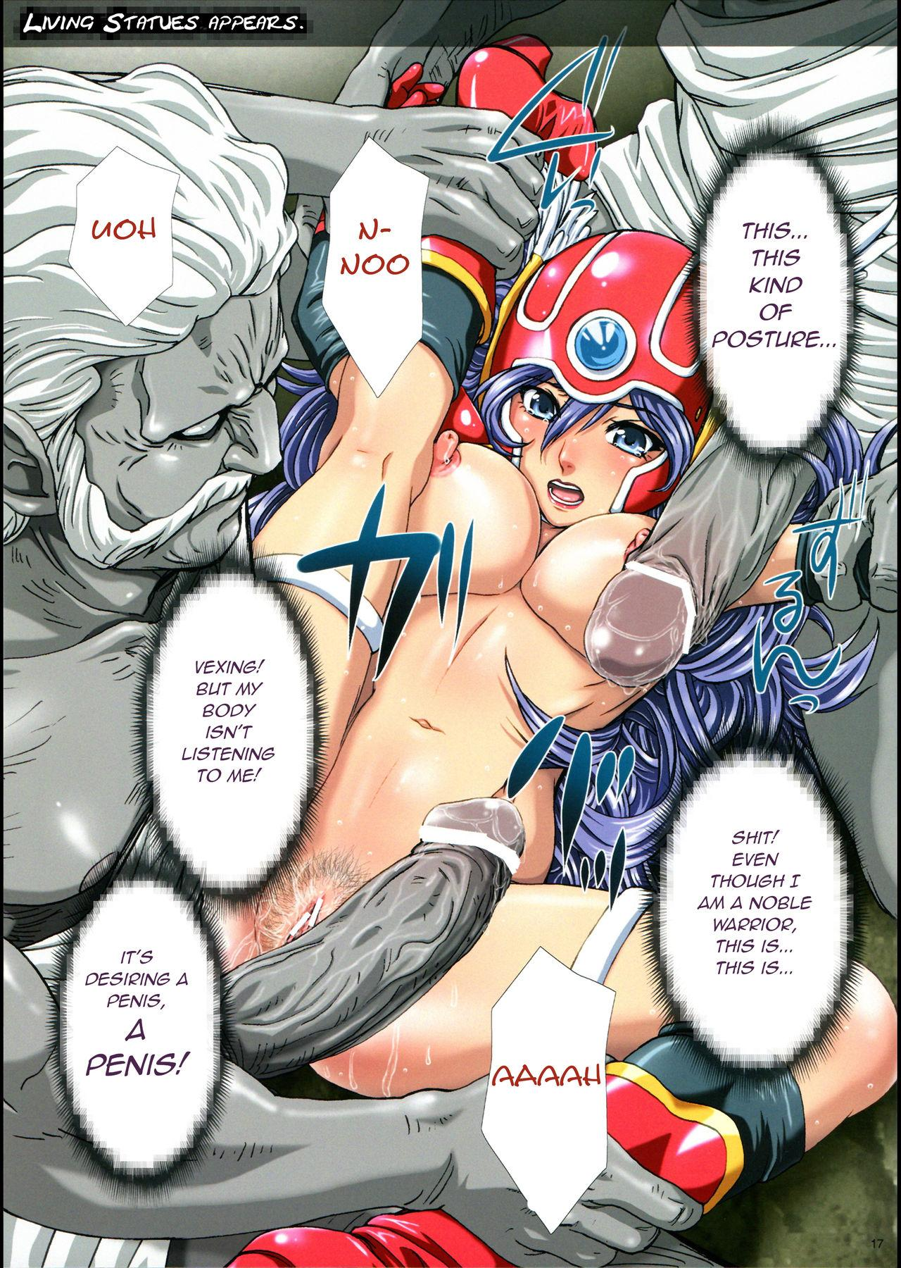 Inran Kyonyuu Senshi - Lechery Big Hooters Soldier 16