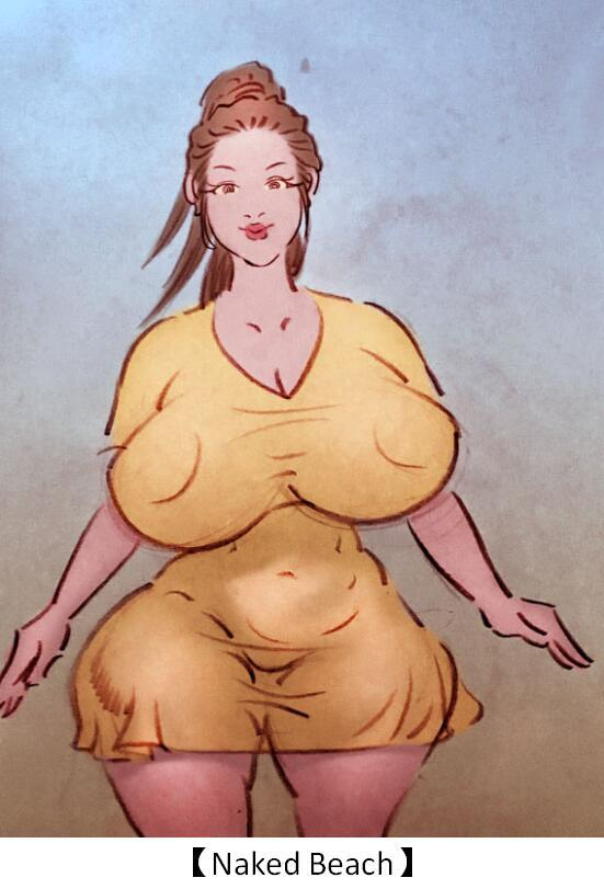 【Naked Beach】-私人画家- English 0
