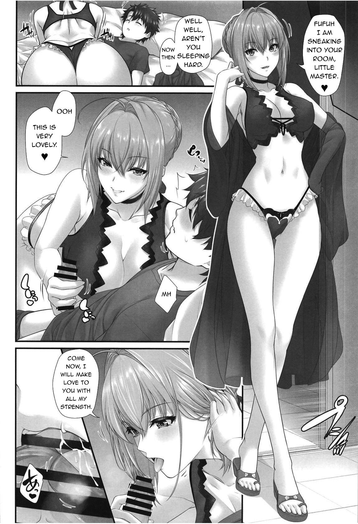 (C95) [Z.A.P. (Zucchini)] Ritsuka-kun no Sainan? 2 ~Nerawareta Kohitsuji!?~ | Ritsuka-kun's Misfortune? 2 The Targeted Lamb!? (Fate/Grand Order) [English] [q91] 7