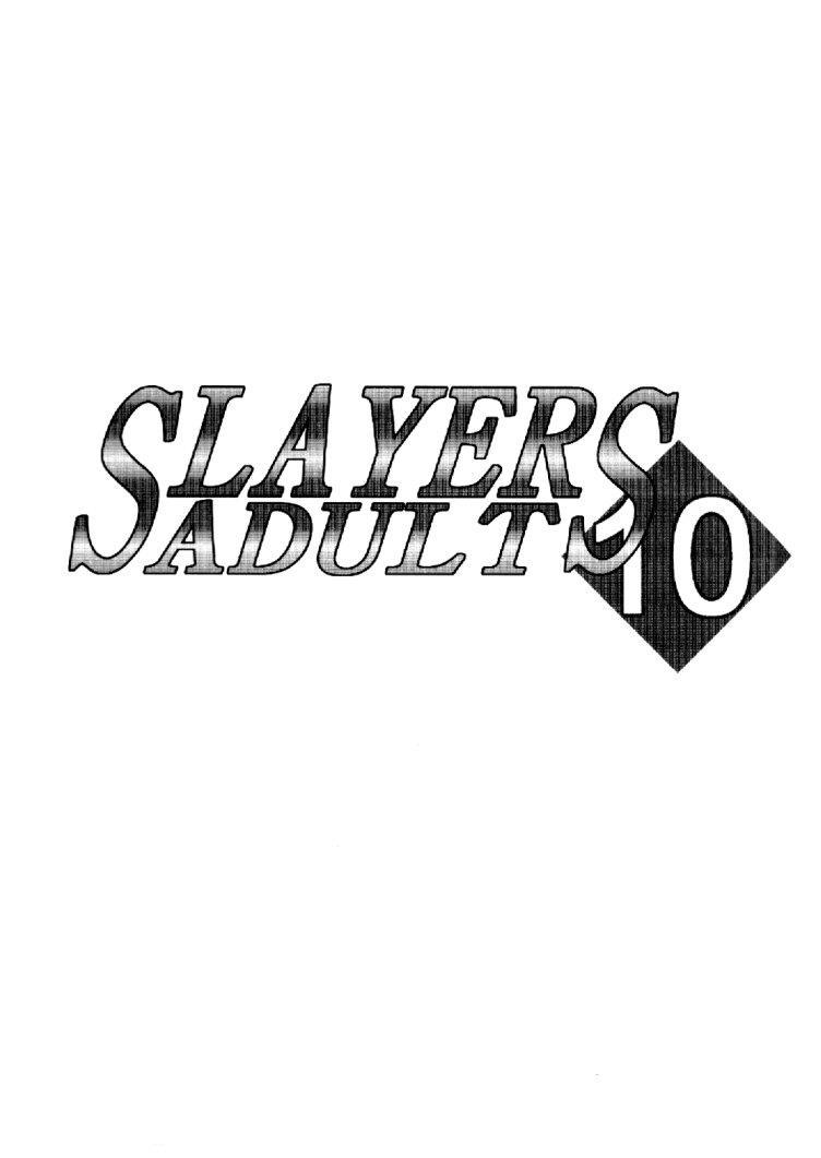 Slayers Adult 10 1