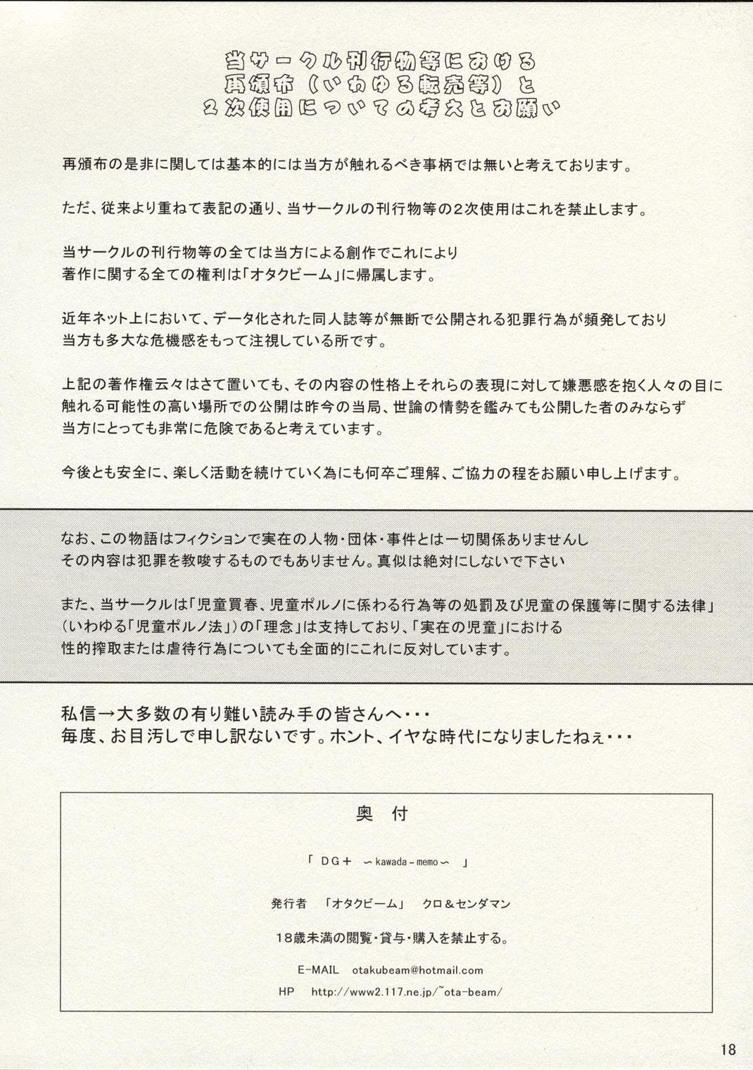 DG+ Kawada Memo 10