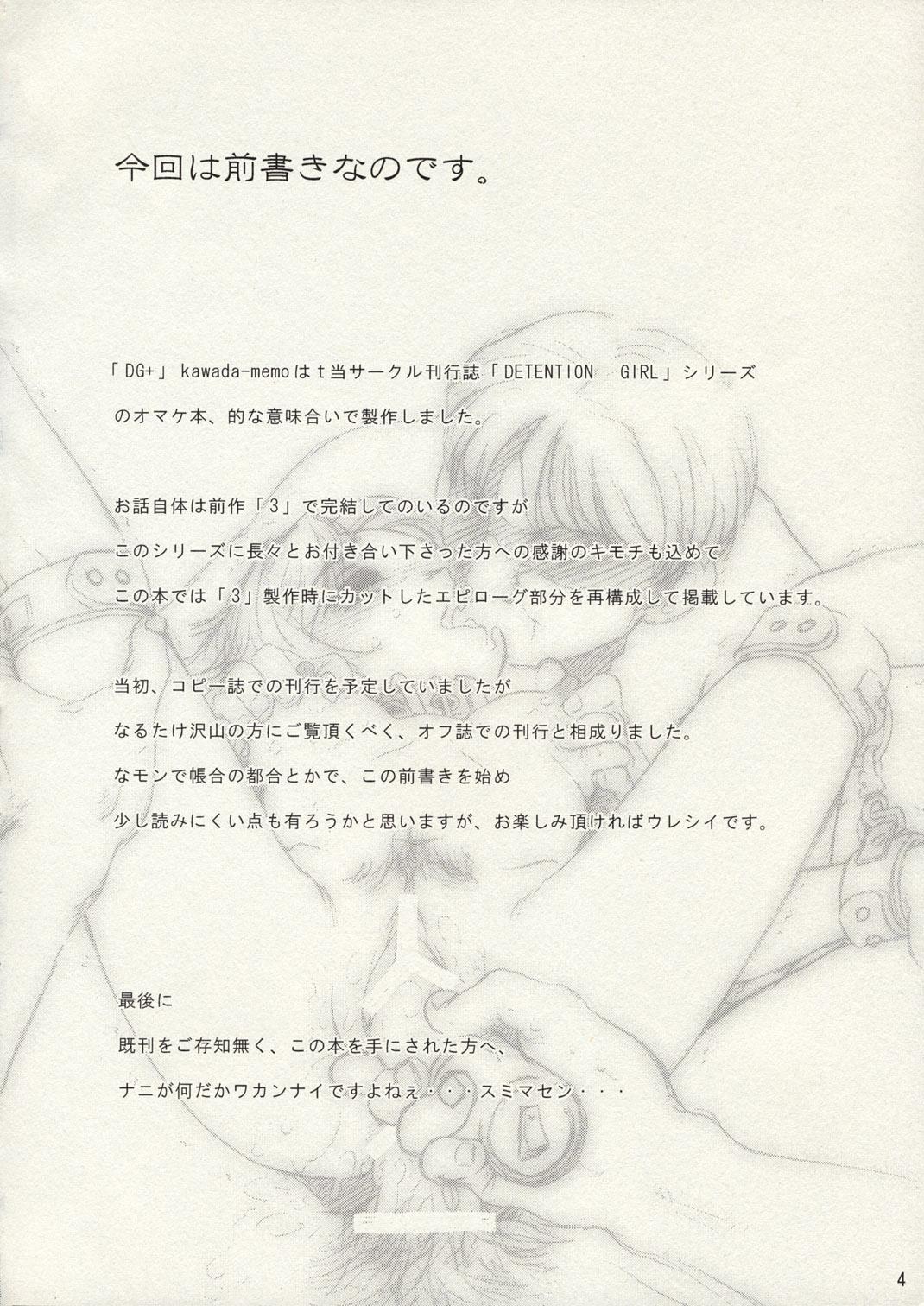 DG+ Kawada Memo 2