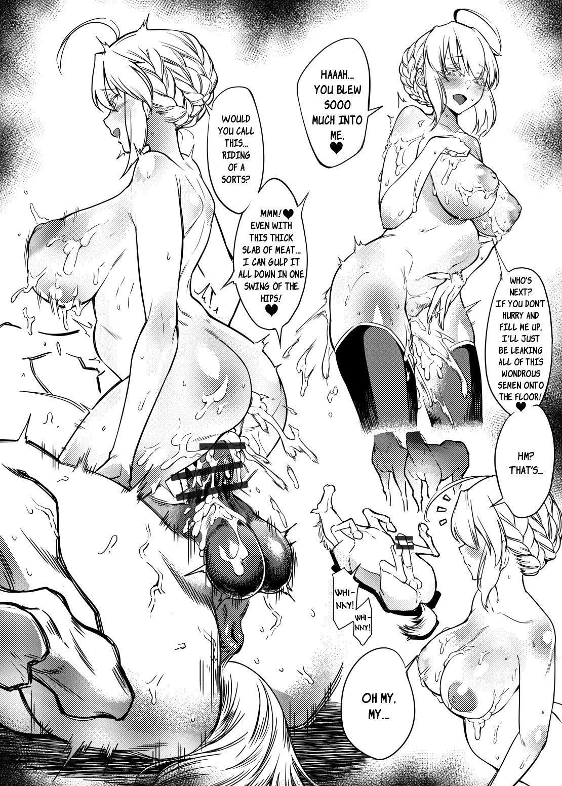 Hakuba Uma ni Norareru Kishi 8