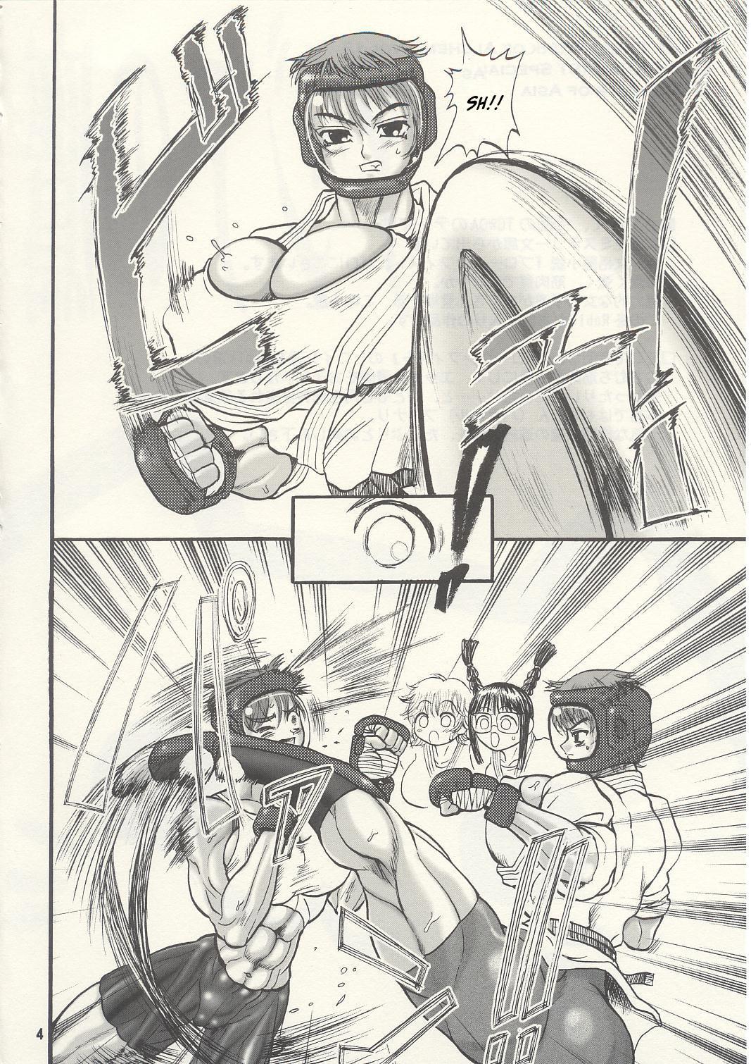 TGWOA Vol.13 - Asia no Taka 2