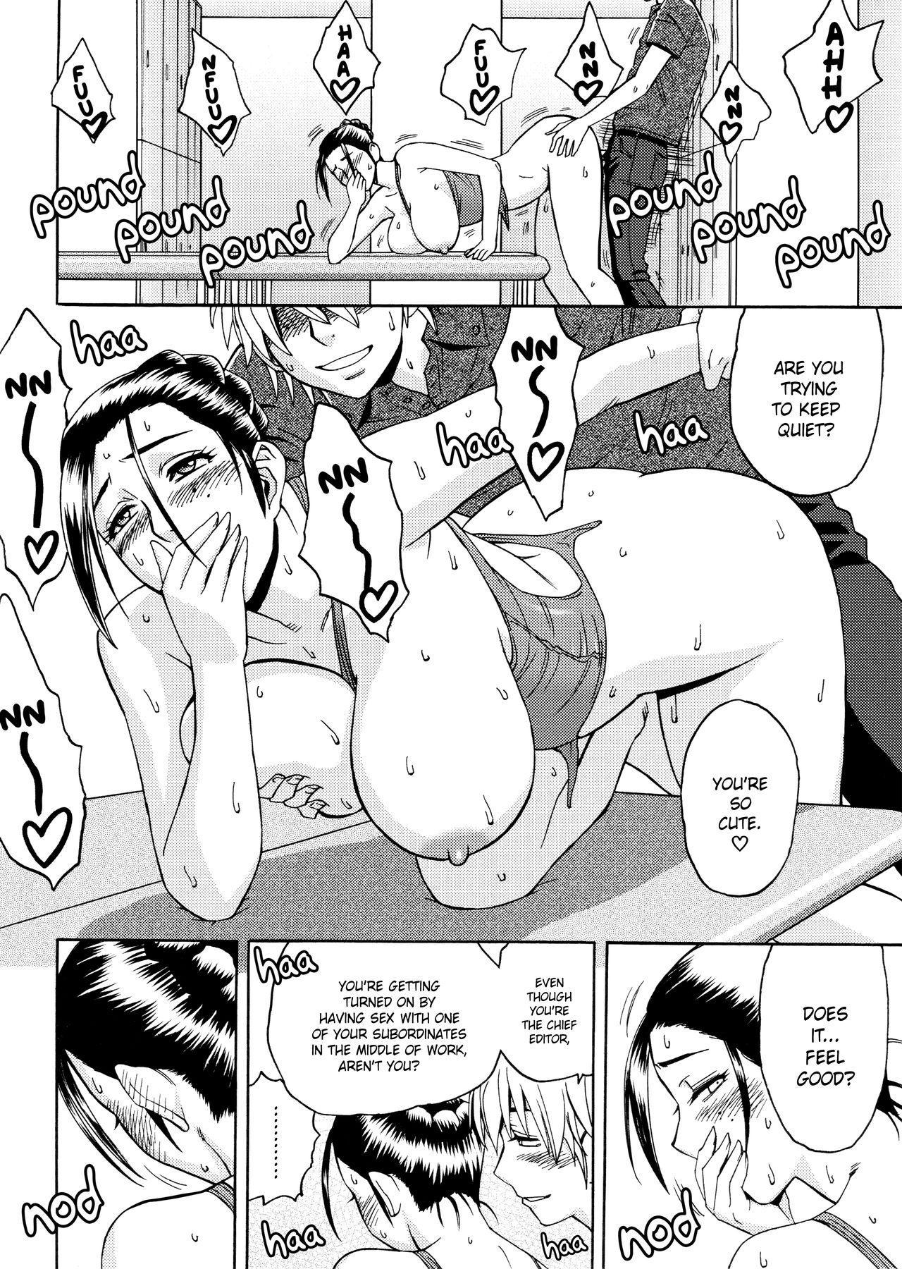 [Tatsunami Youtoku, Yamazaki Masato] Bijin Henshuu-chou no Himitsu | Beautiful Editor-in-Chief's Secret Ch. 1-4 [English] [Forbiddenfetish77, Red Vodka] [Decensored] 39