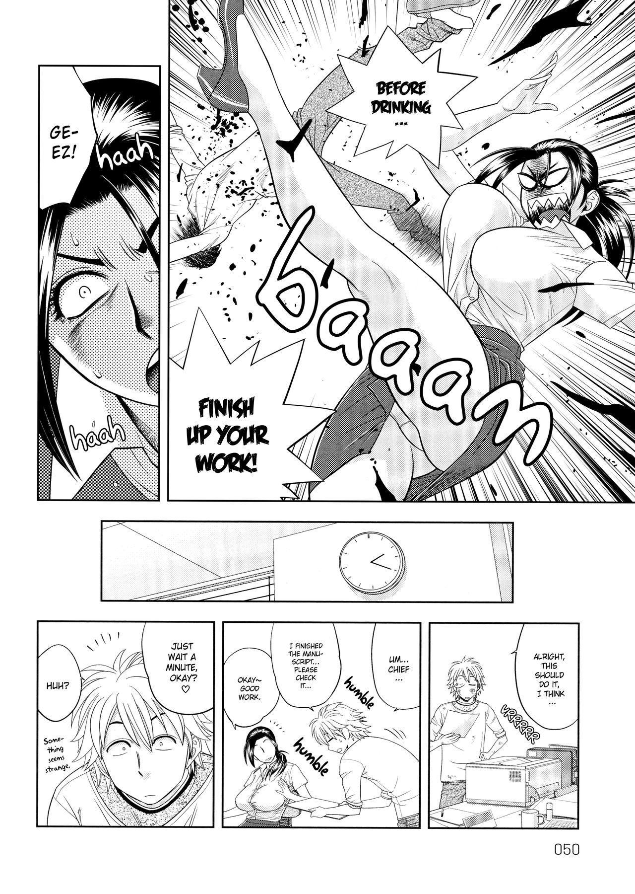 [Tatsunami Youtoku, Yamazaki Masato] Bijin Henshuu-chou no Himitsu | Beautiful Editor-in-Chief's Secret Ch. 1-4 [English] [Forbiddenfetish77, Red Vodka] [Decensored] 49