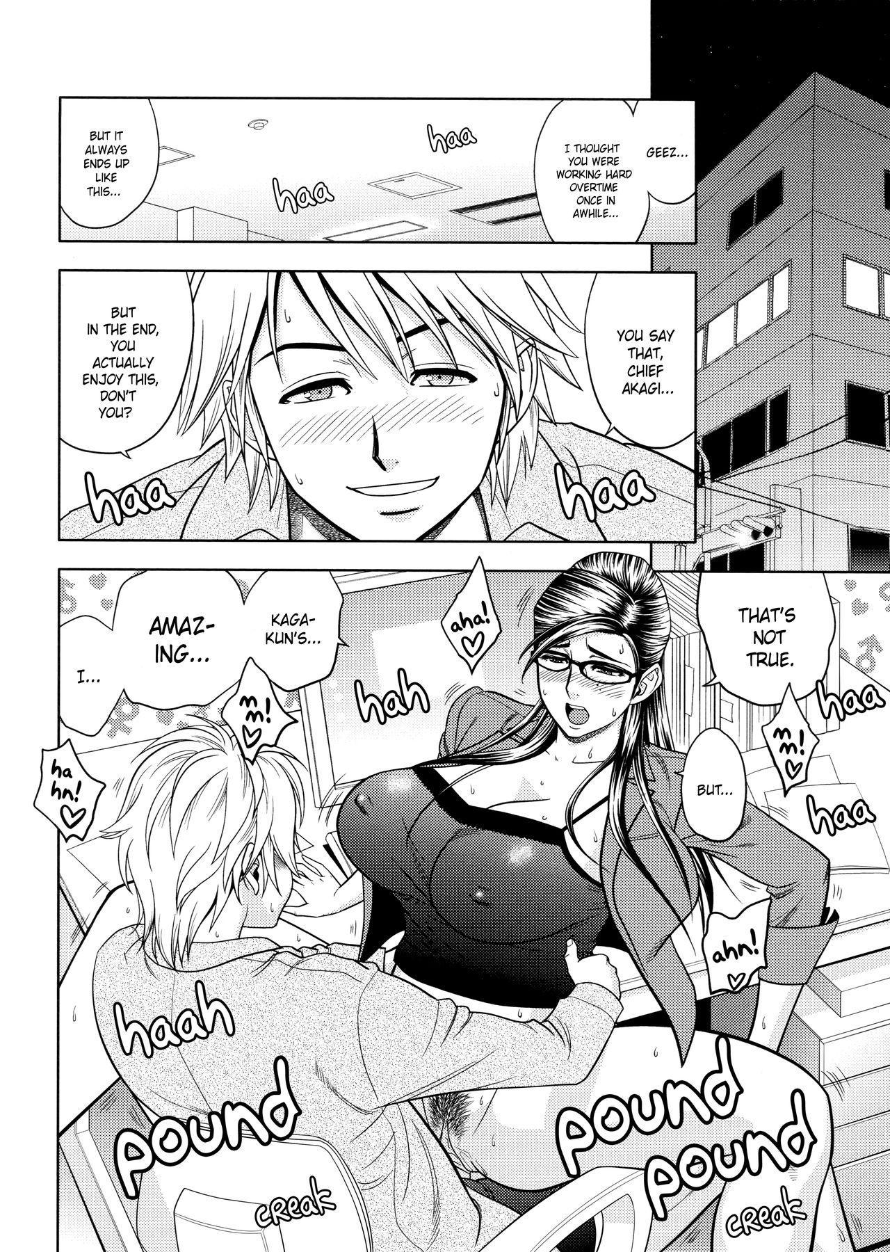 [Tatsunami Youtoku, Yamazaki Masato] Bijin Henshuu-chou no Himitsu | Beautiful Editor-in-Chief's Secret Ch. 1-4 [English] [Forbiddenfetish77, Red Vodka] [Decensored] 65