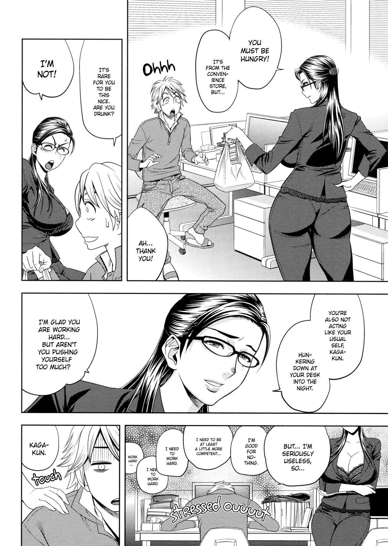 [Tatsunami Youtoku, Yamazaki Masato] Bijin Henshuu-chou no Himitsu | Beautiful Editor-in-Chief's Secret Ch. 1-4 [English] [Forbiddenfetish77, Red Vodka] [Decensored] 73