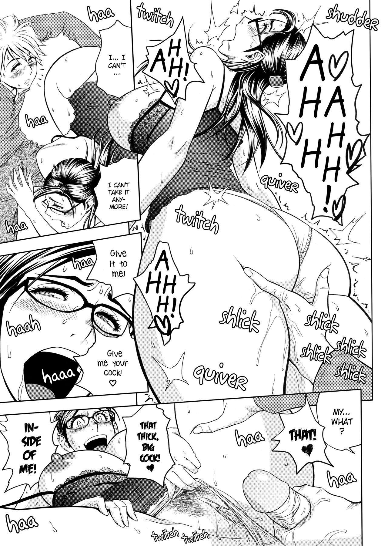 [Tatsunami Youtoku, Yamazaki Masato] Bijin Henshuu-chou no Himitsu | Beautiful Editor-in-Chief's Secret Ch. 1-4 [English] [Forbiddenfetish77, Red Vodka] [Decensored] 78