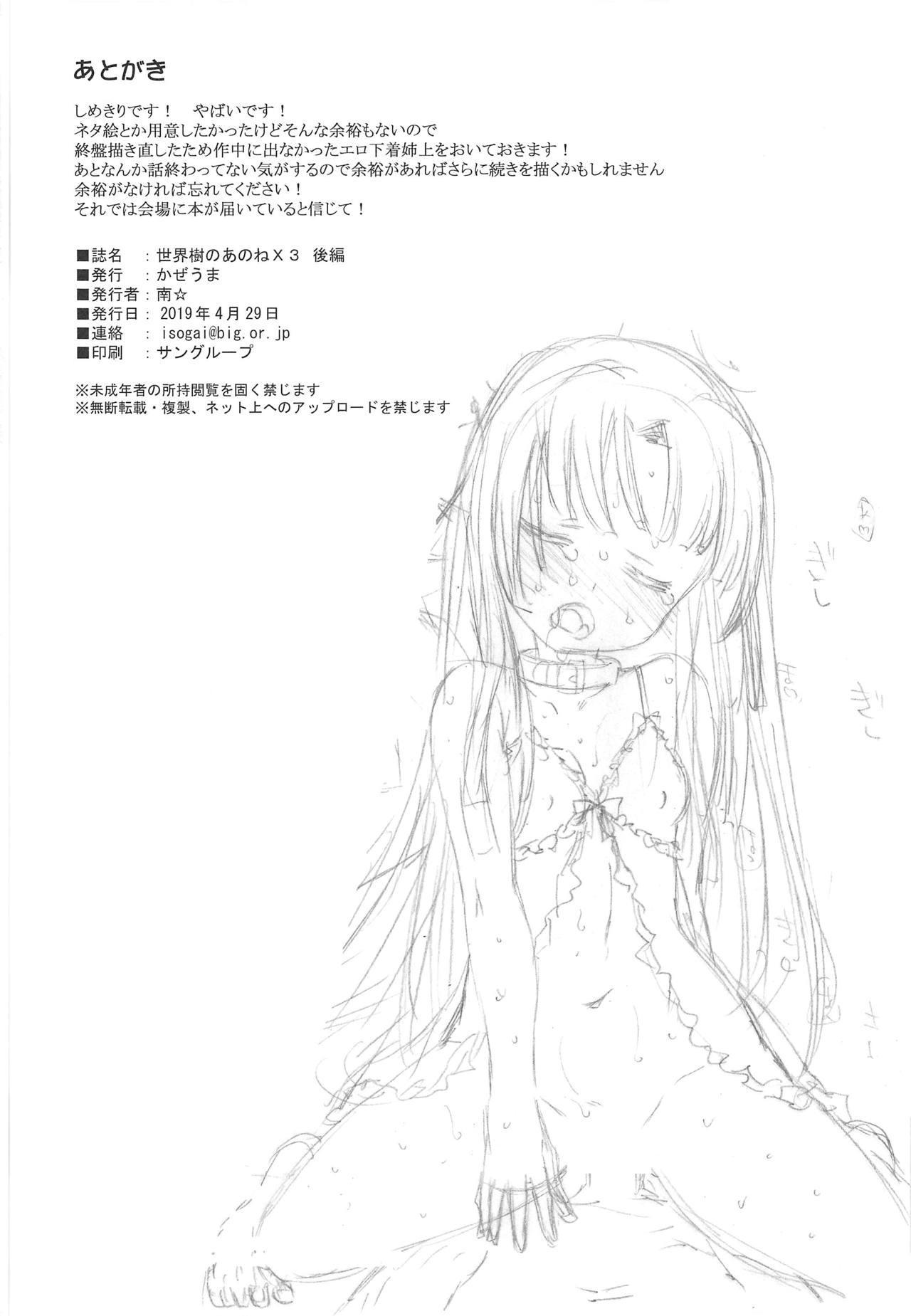 Sekaiju no Anone X3 Kouhen 40