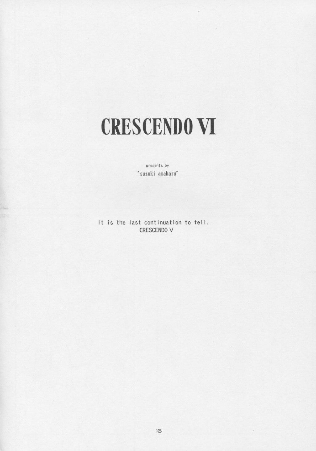 CRESCENDO VI 14