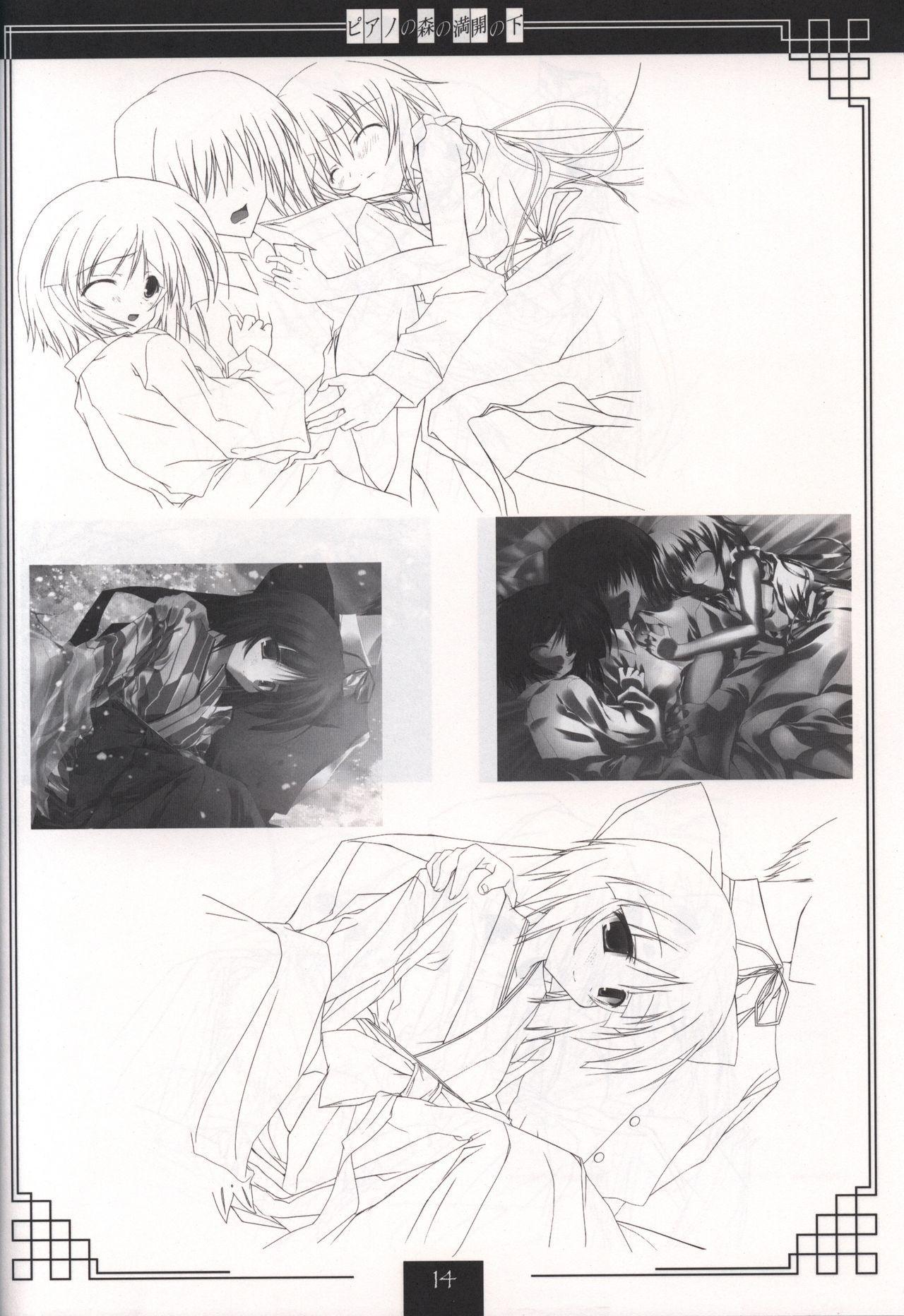 Piano no Mori no Mankai no Shita illustration art book 12