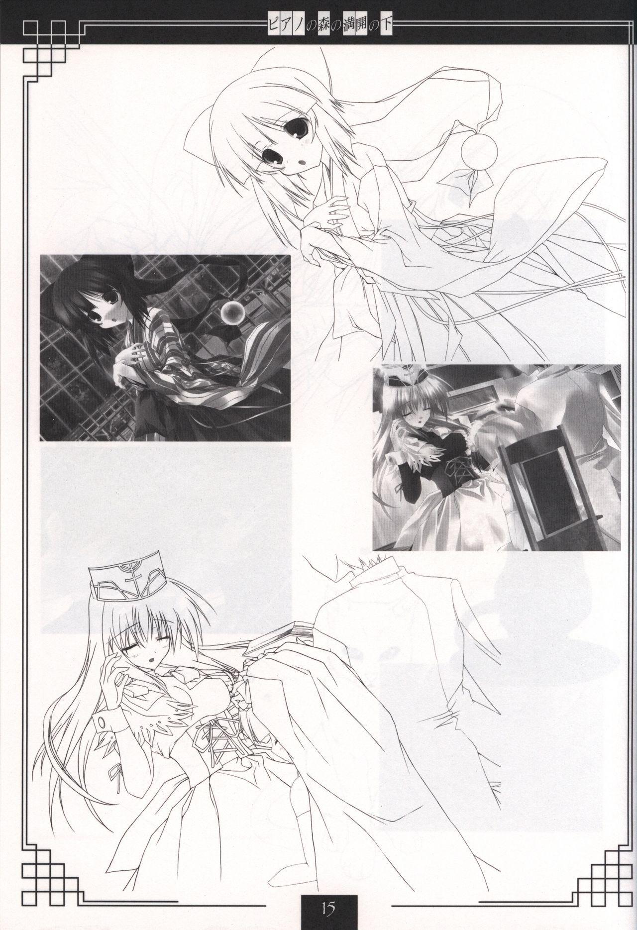 Piano no Mori no Mankai no Shita illustration art book 13