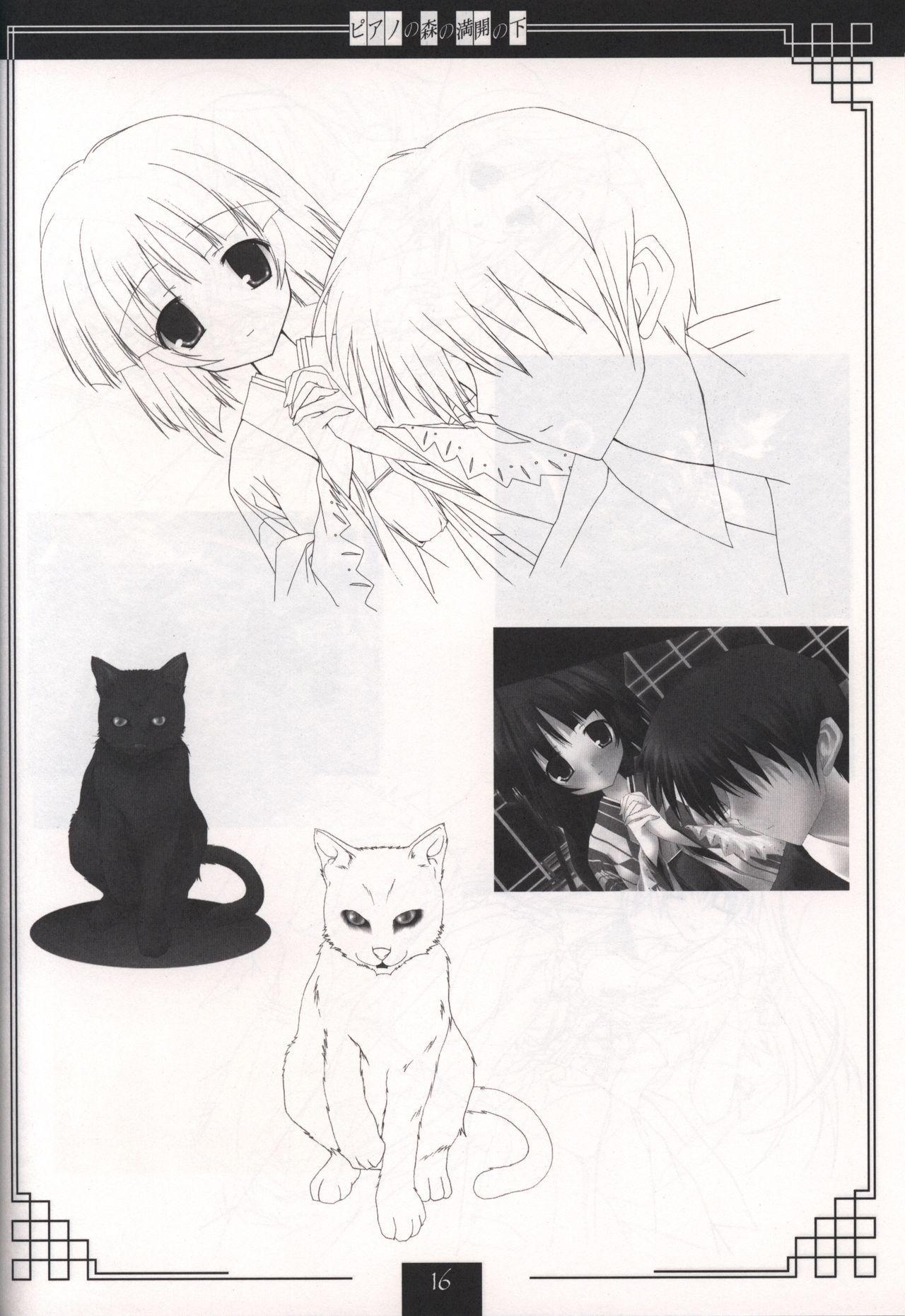 Piano no Mori no Mankai no Shita illustration art book 14