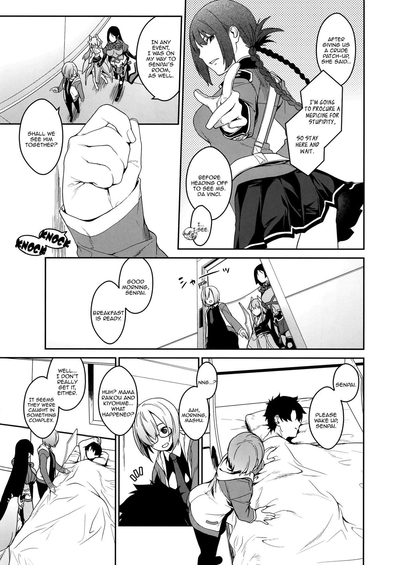 [MARCH (Minakuchi Takashi)] Seihitsu-chan In My Room | Serenity-chan in My Room (Fate/Grand Order) [English] [Aoitenshi] [Digital] 26