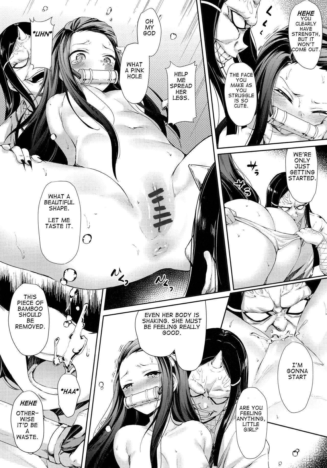 Moshi Nezuko ga Warui Hito ni Tsukamattara... 6