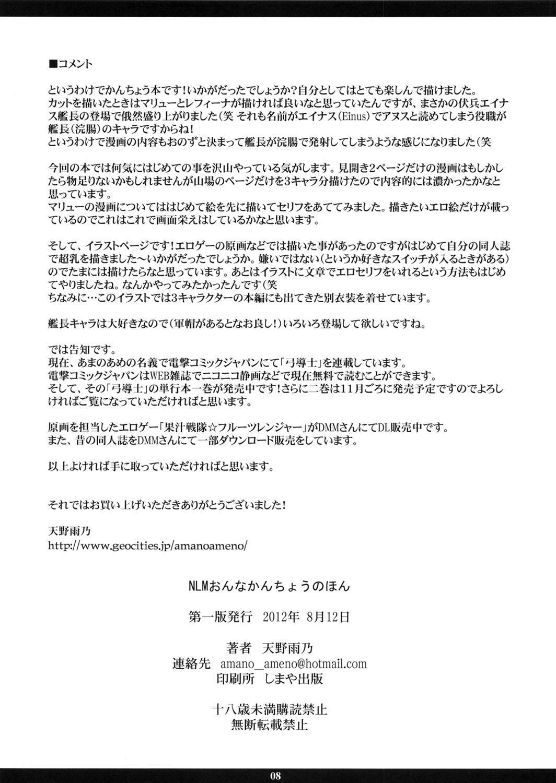 (C82) [M (Amano Ameno)] NLM - Onna Kanchou no Hon | NLM - Women's Enema Book (Various) [English] [Rinruririn] 7