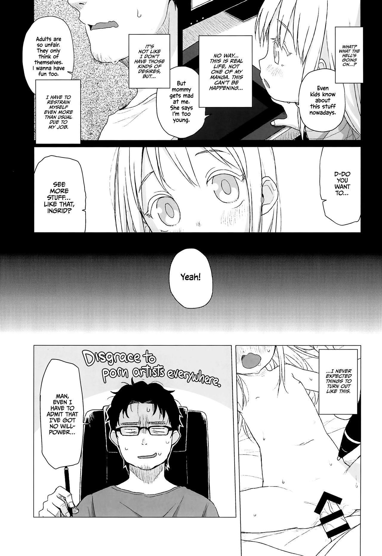 (C96) [Shichiten Battou (Miyasaka Takaji)] Uchi no Tonari no Shougakusei wa Kinpatsu Hekigan Ecchi-zuki | The Blonde-haired, Blue-Eyed Elementary Schooler Next Door Loves Sex [English] =TLL + mrwayne= 6