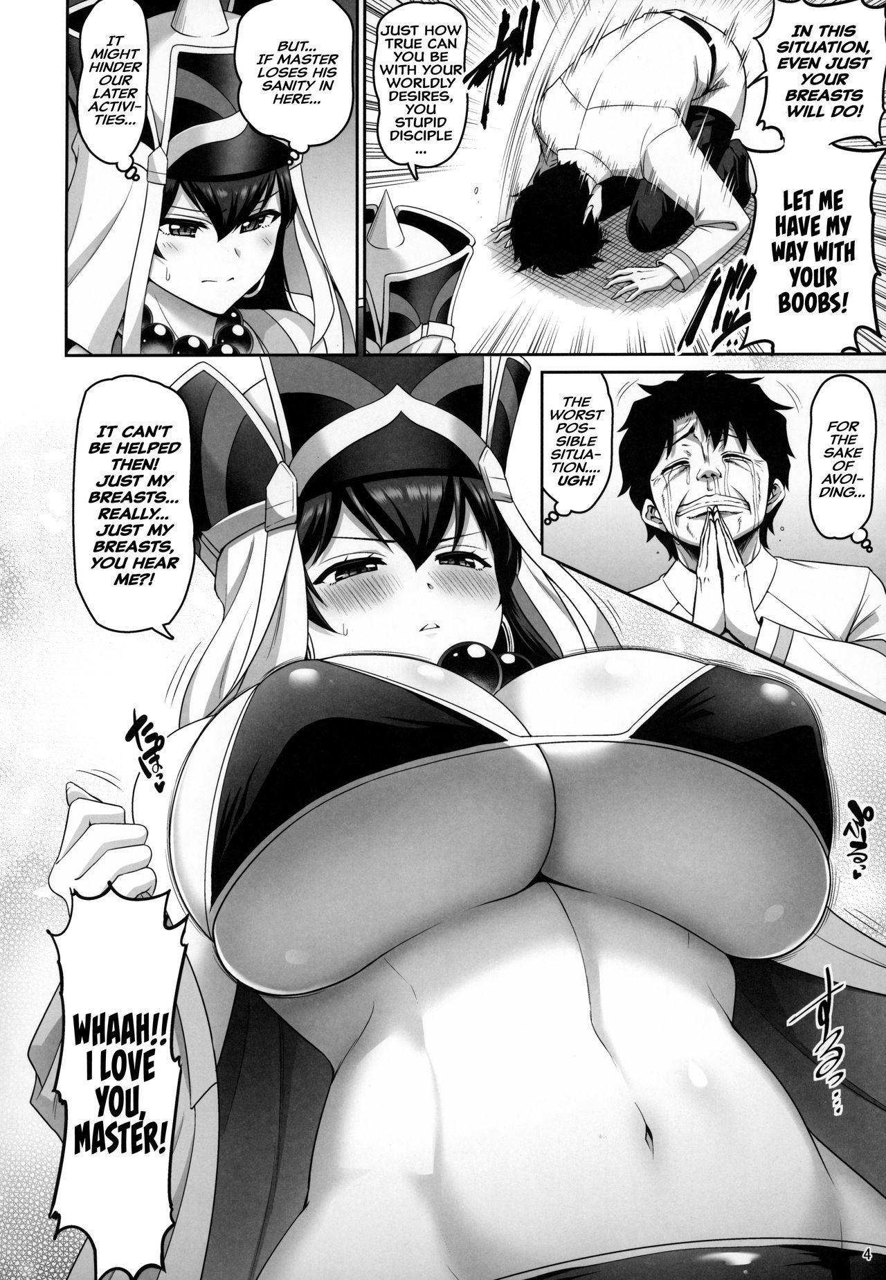 (C96) [Urasazan (Minamino Sazan)] Sanzou-chan no Chichi o Okashimakuru Hon | A Book Where Sanzou-chan's Tits Are Totally Violated (Fate/Grand Order) [English] [Hive-san] 2