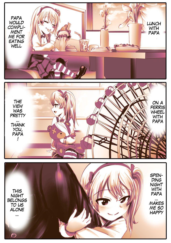 [An-chan Kaichou] Papa Daa~isuki Arisu-chan | Papa-Loving Arisu-Chan (Girls und Panzer) [English] [MegaFagget] [Decensored] 2