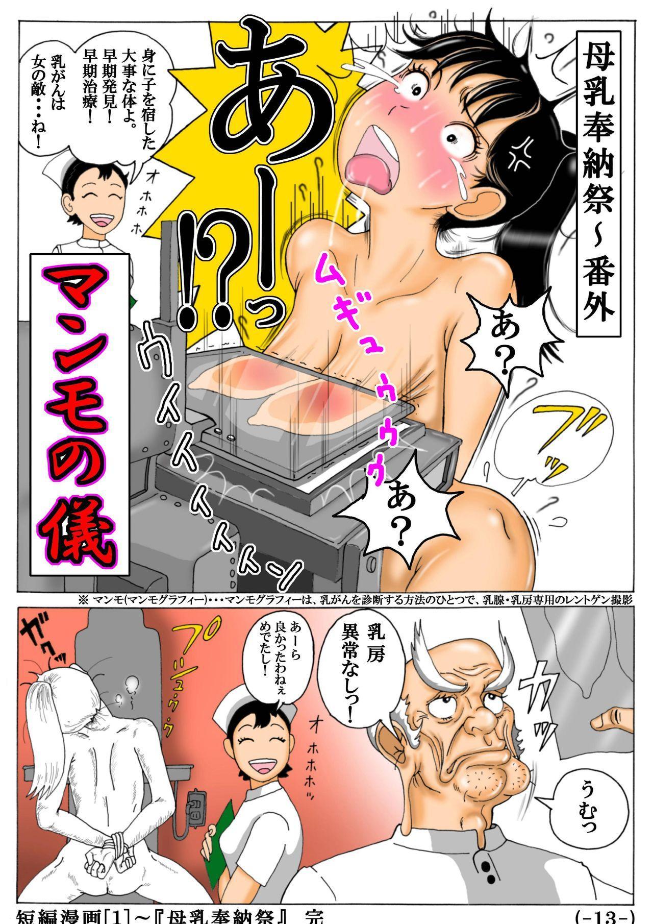 Original Tanpen Manga 2 Hon Date + Original Illust 13