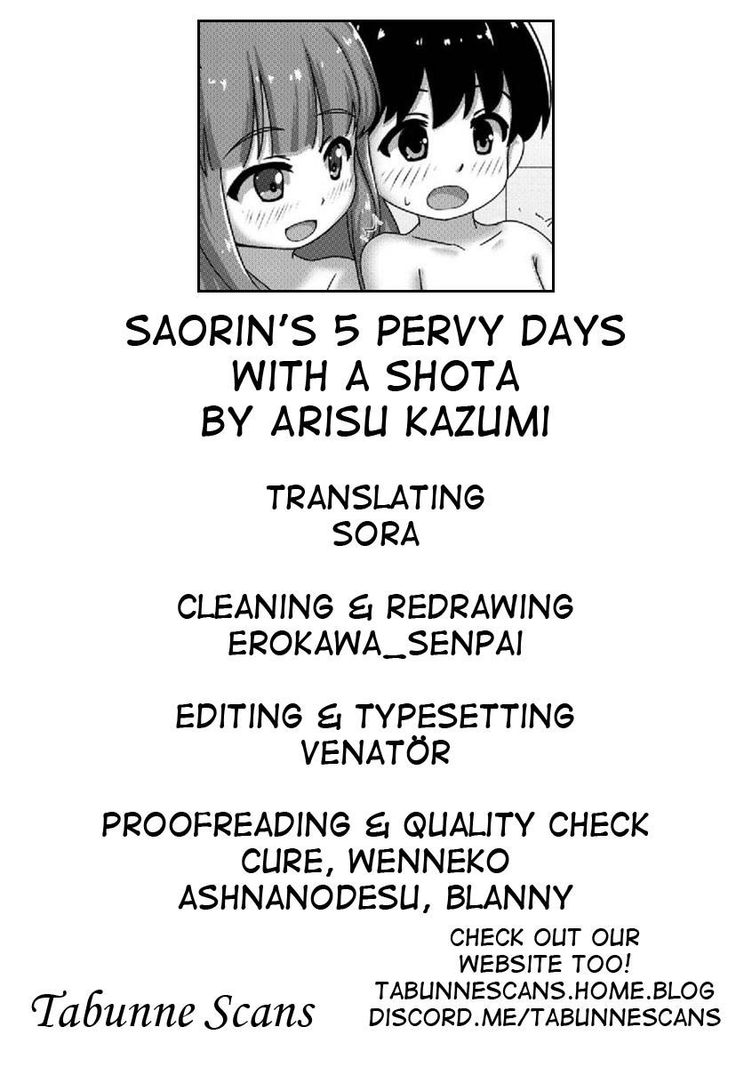 Saorin to Shota no H na Itsukakan | Saorin's 5 pervy days with a shota 24