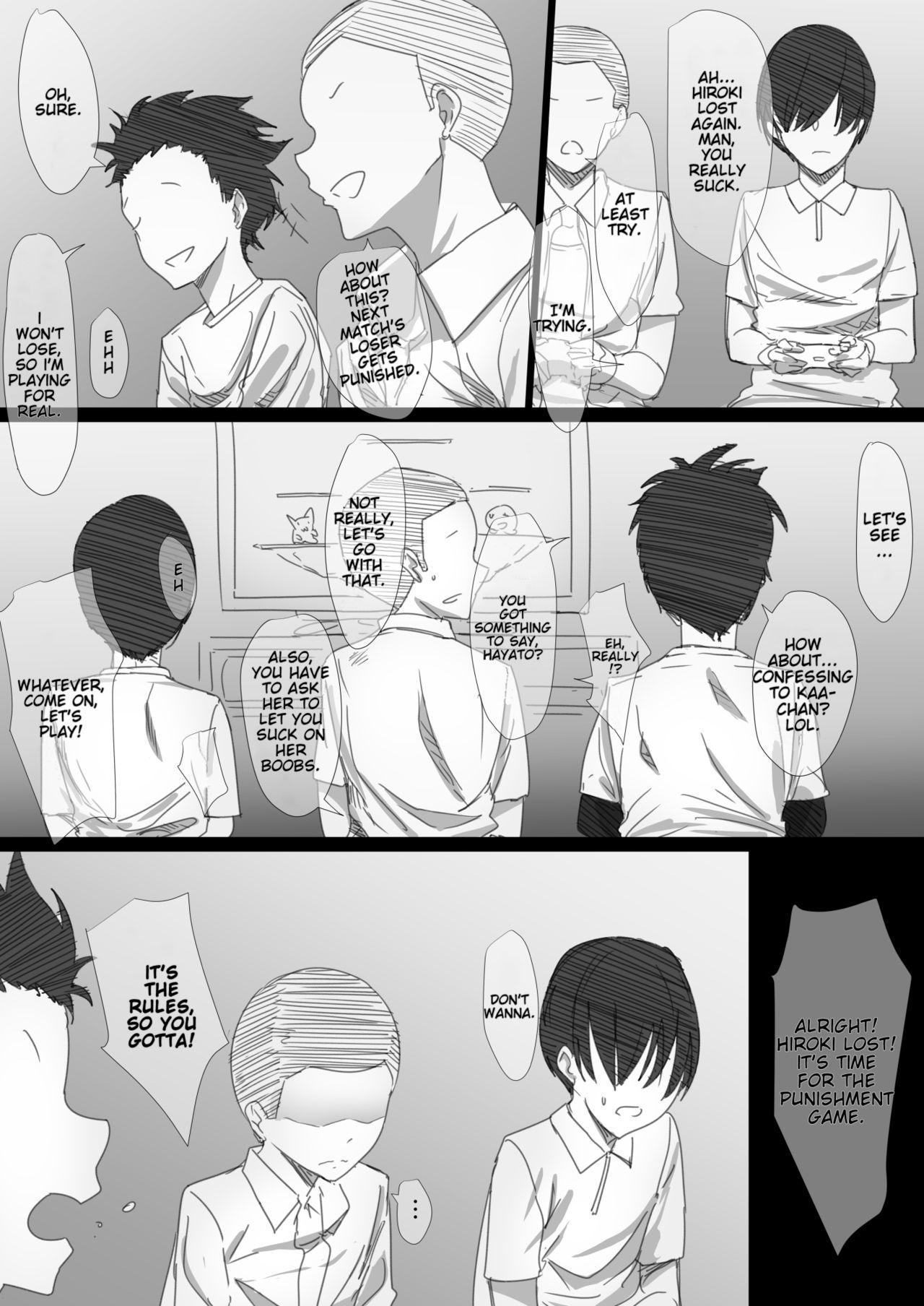 [Hari Poteto] Yanmama Oba-san no Miwaku no Karada -Boku ga Hitozuma Sex ni Hamatta Riyuu- [English] [SDTLs] 8