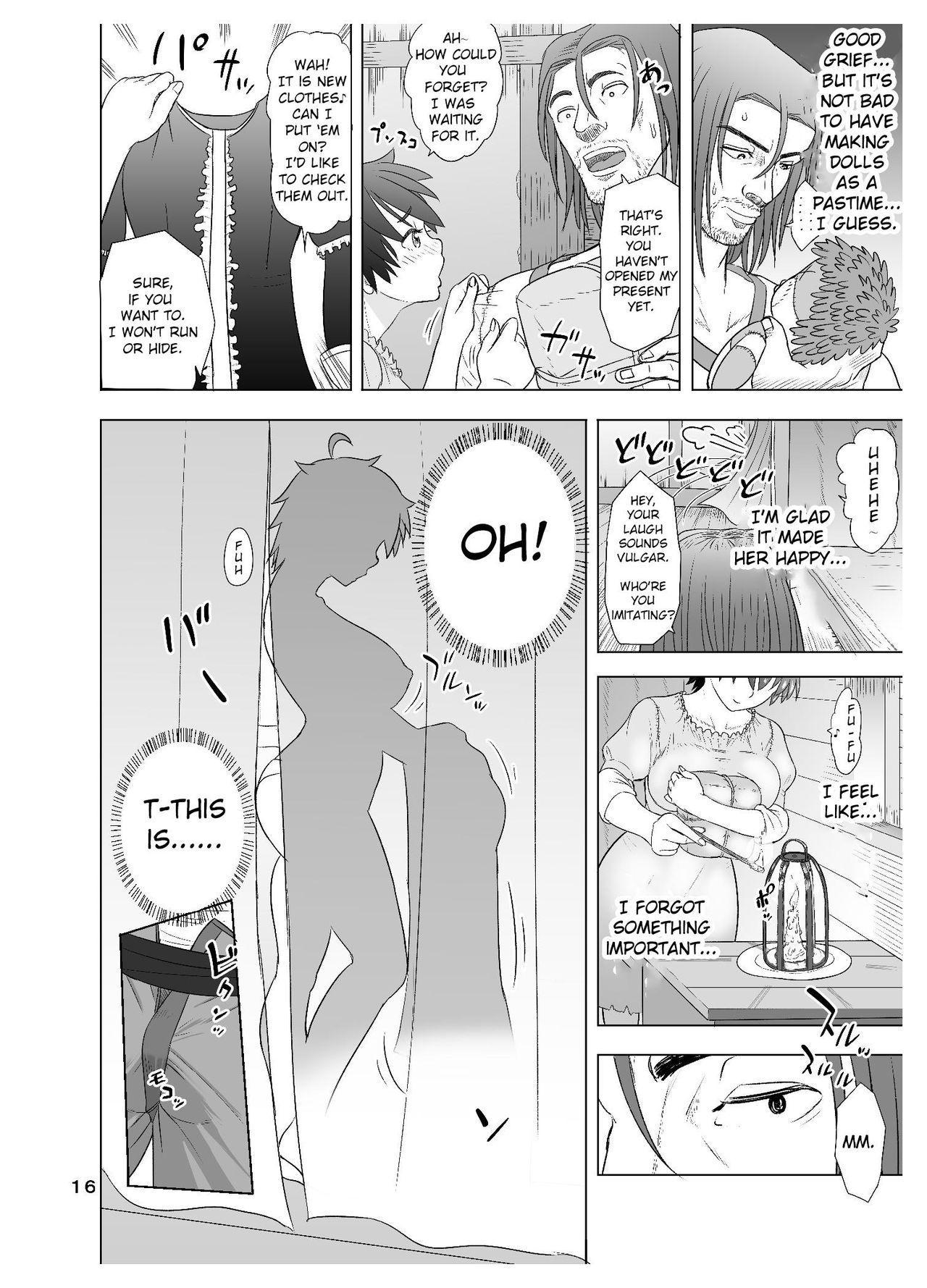 [Mandrill (Arimura Ario)] Datte Otoko wa Kedamono da mono Dai 1-wa Otou-san wa Ookami-san? [English] [CrowKarasu] 15