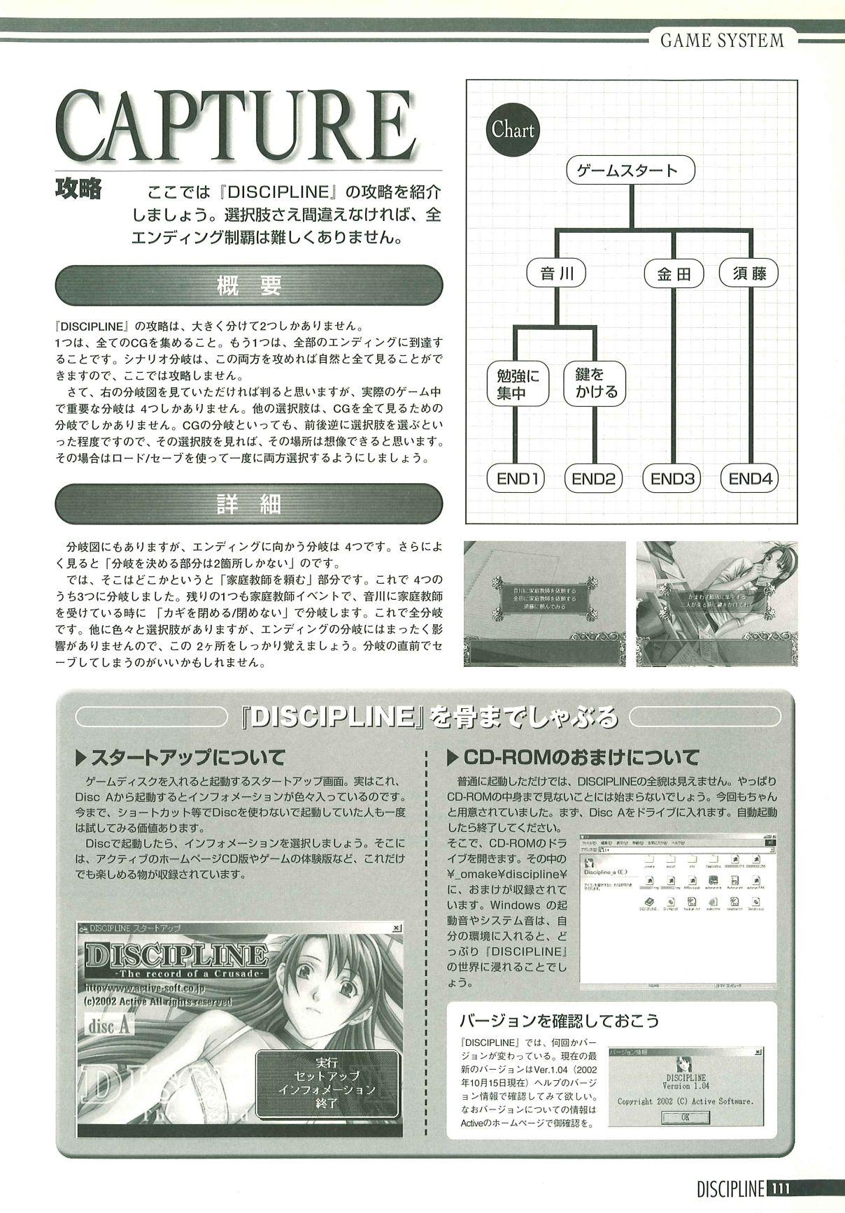 Discipline Artbook 111