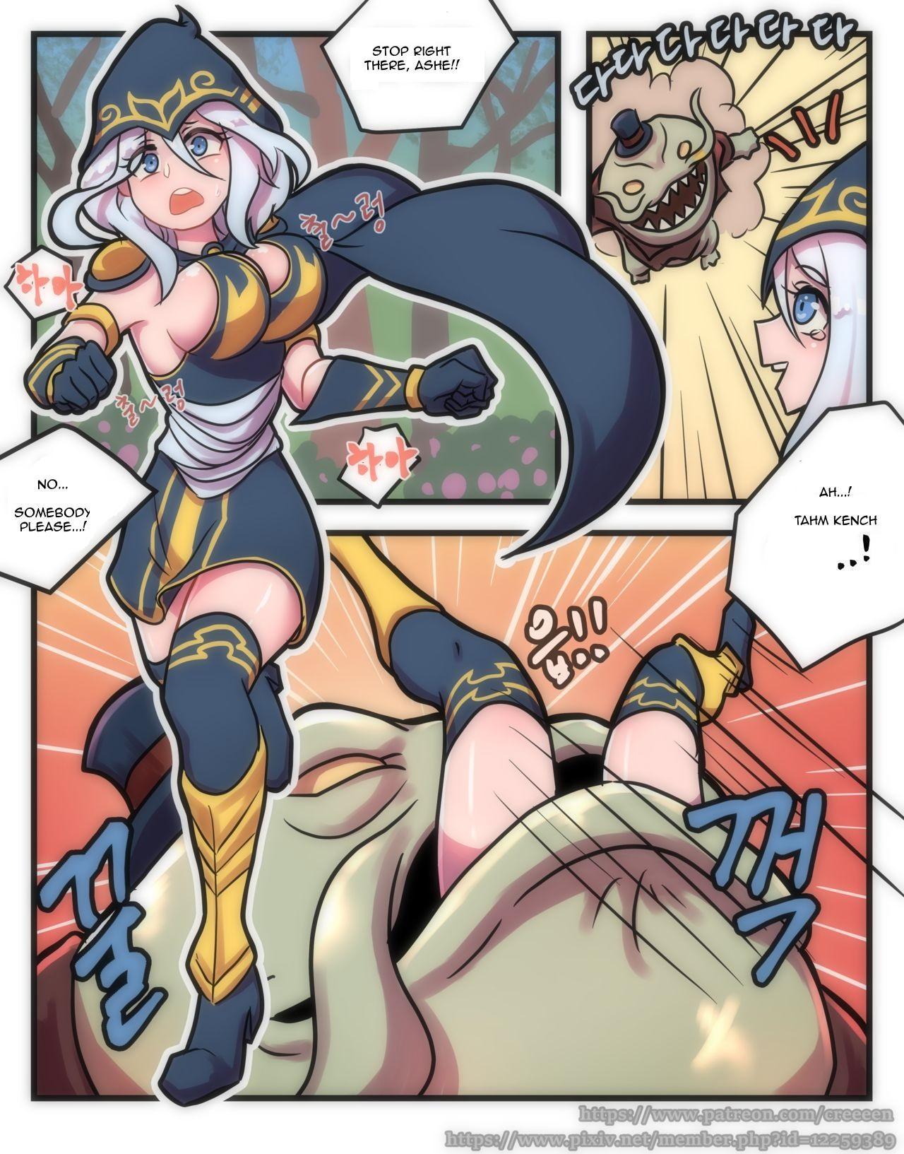 Ashe Comic 1