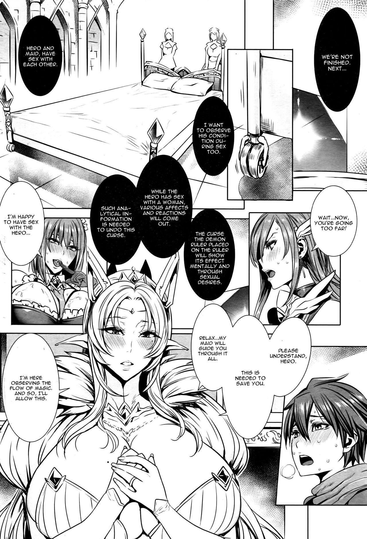 Ippai Itte ne, Yuusha-sama   Please Cum Lots ♪ Lord Hero ♥ 10
