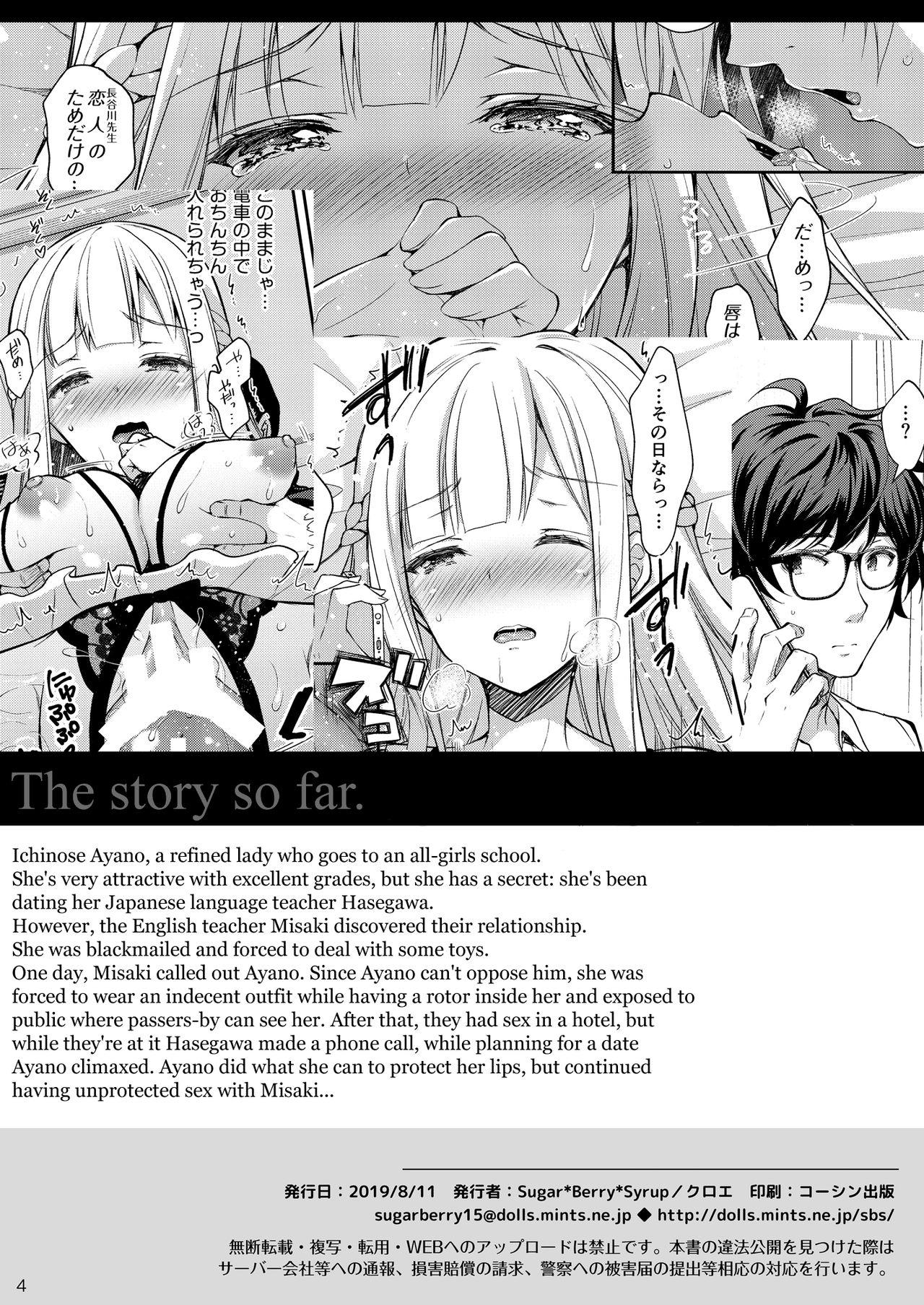 (C96) [Sugar*Berry*Syrup (Crowe)] Indeki no Reijou 3 ~Yureugoku Kokoro, Yoru Midareru Mitsubana~ | Obscene Lady 3 - ~Wavering heart, Astrayed Evening Nectar~ [English] [obsoletezero] 3
