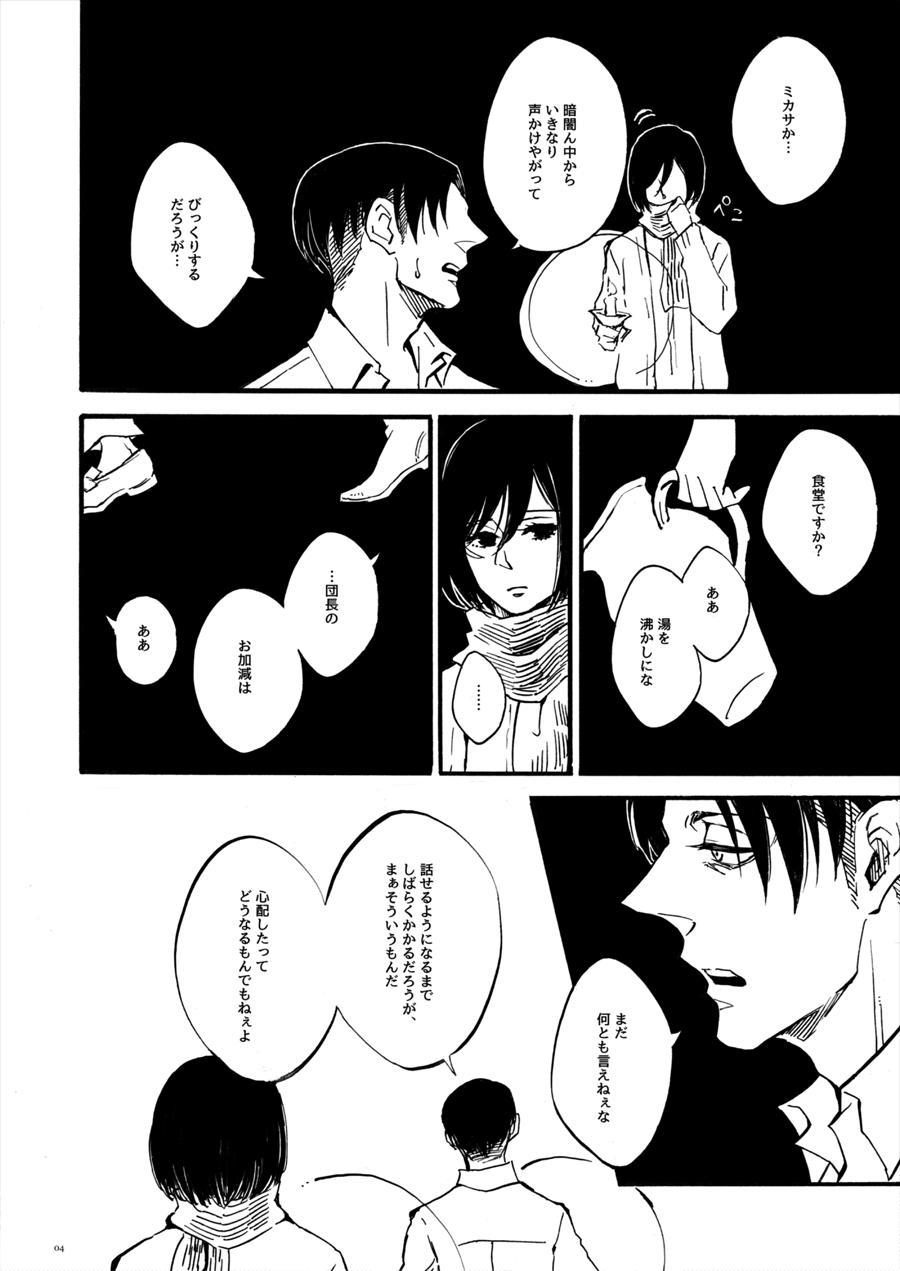 【WEB Sairoku】 Silent Roar【Shingeki no Kyojin】 2
