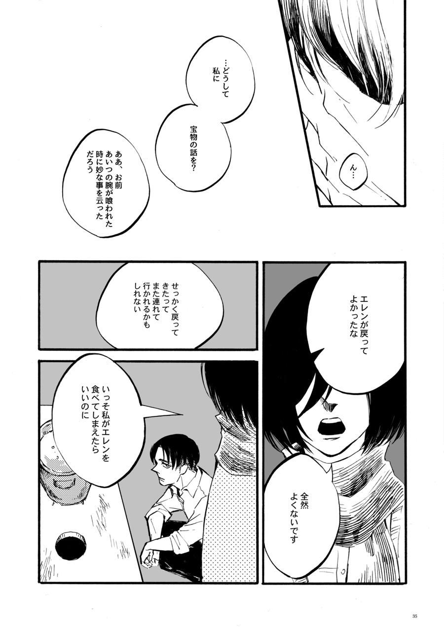 【WEB Sairoku】 Silent Roar【Shingeki no Kyojin】 31