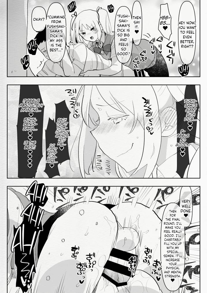 Futanari Osananajimi to Ore to Futanari Ojou-sama 22