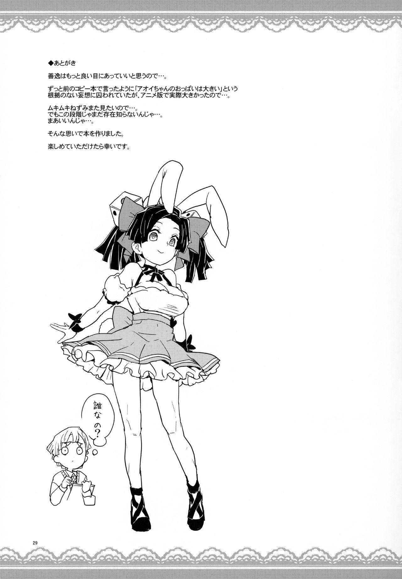Kanzaki Aoi-chan Arigatou Itsumo Atatakai Kango o Shite Kurete... 27