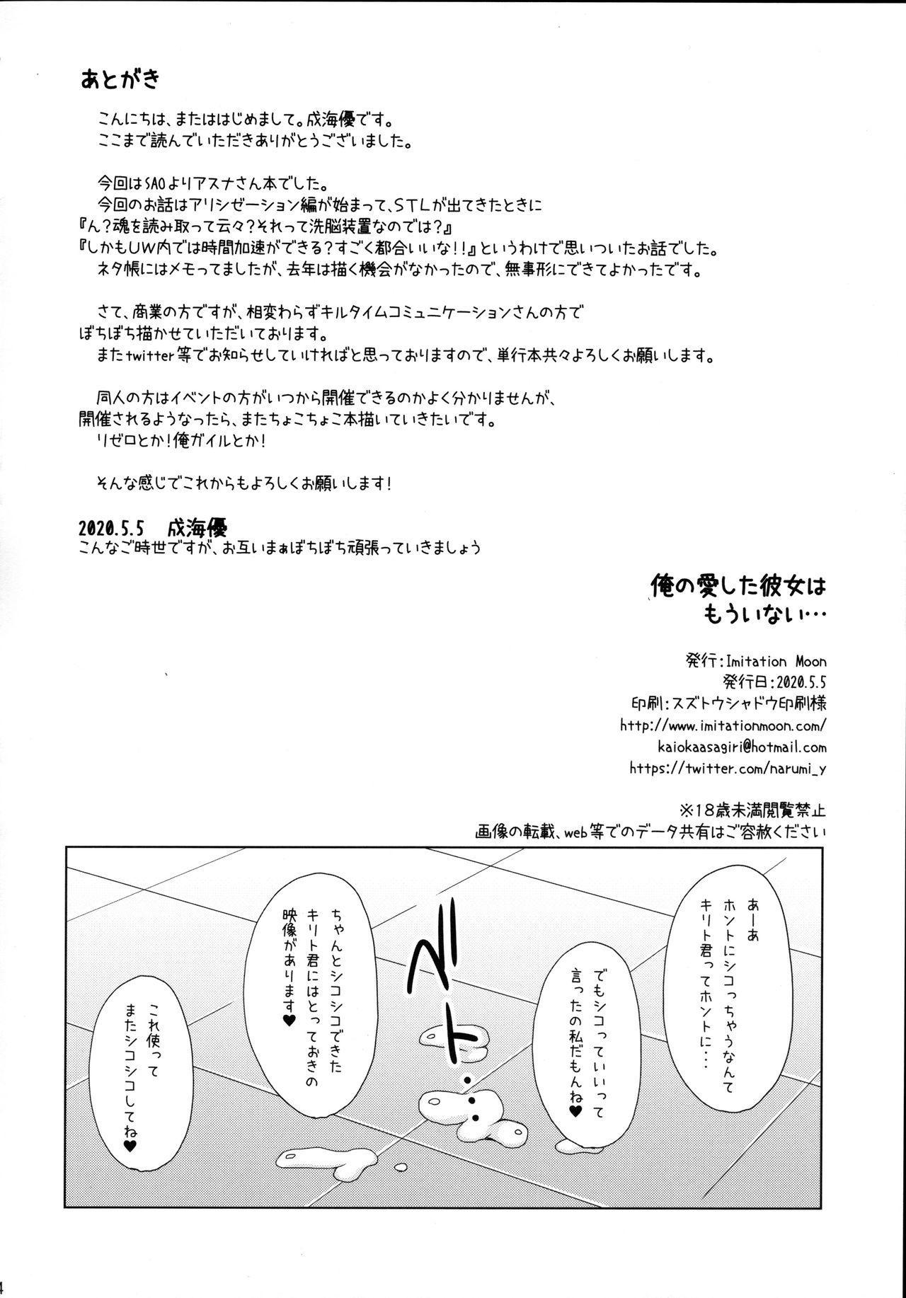 Ore no Ai shita Kanojo wa mou Inai... 22