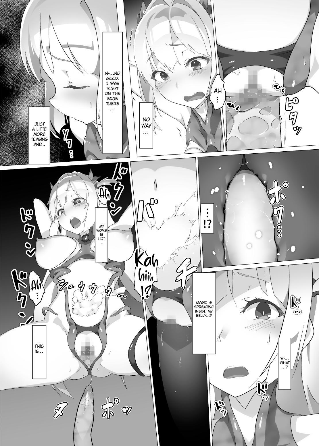 [OXIDE_Lab (OXIDEENGINE)] Kotohana 2 -Sei Shinkan Shokusou Bounyuu Kaizou-   Unusual Flower 2 -The Holy Priestess' Breasts Expansion Tentacle Torture- [English] [cutegyaruTL] [Digital] 21