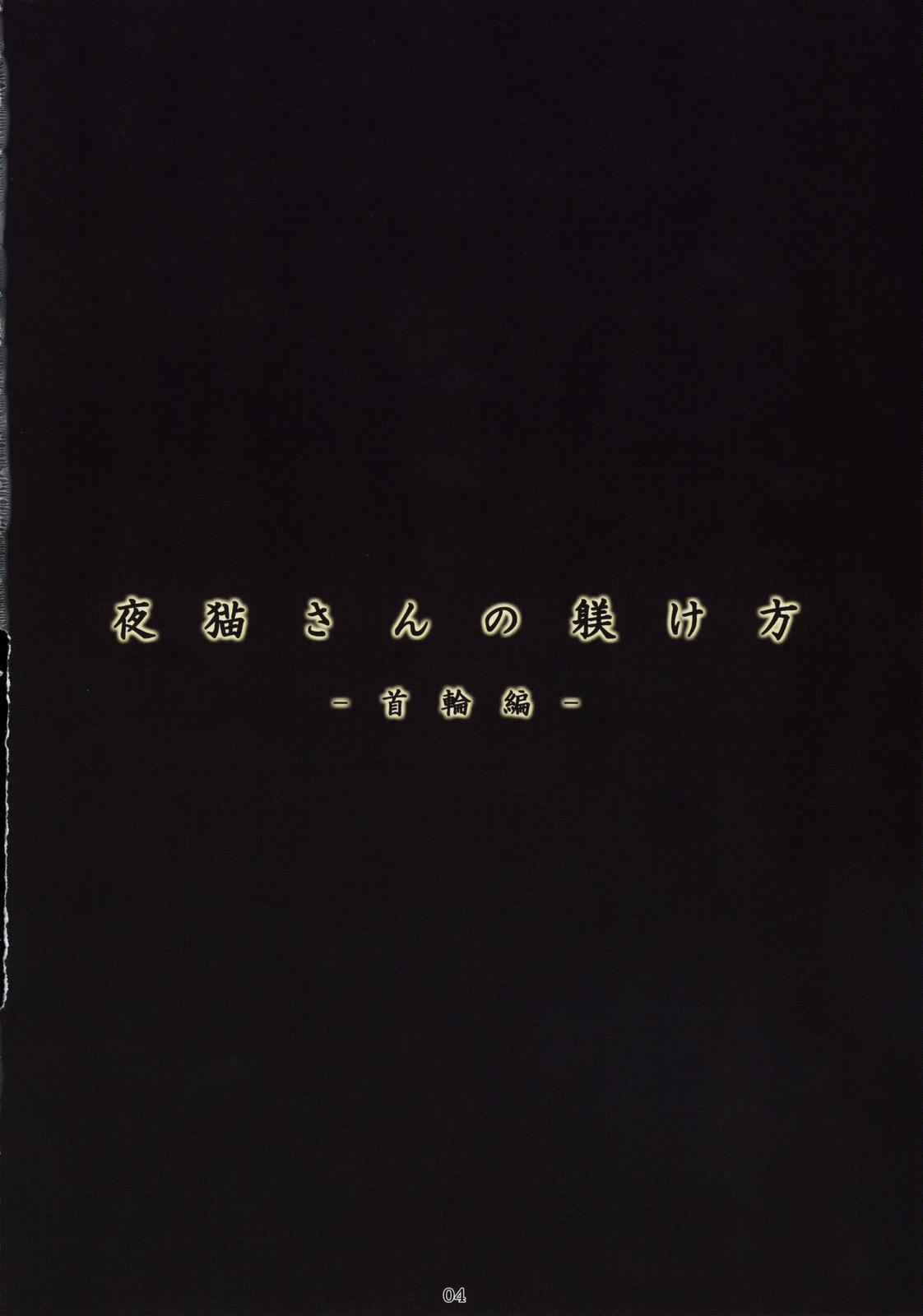 (C76) [Nagaredamaya (BANG-YOU)] Yoruneko-san no Shitsuke kata -Kubiwa Hen- (BLEACH) 2