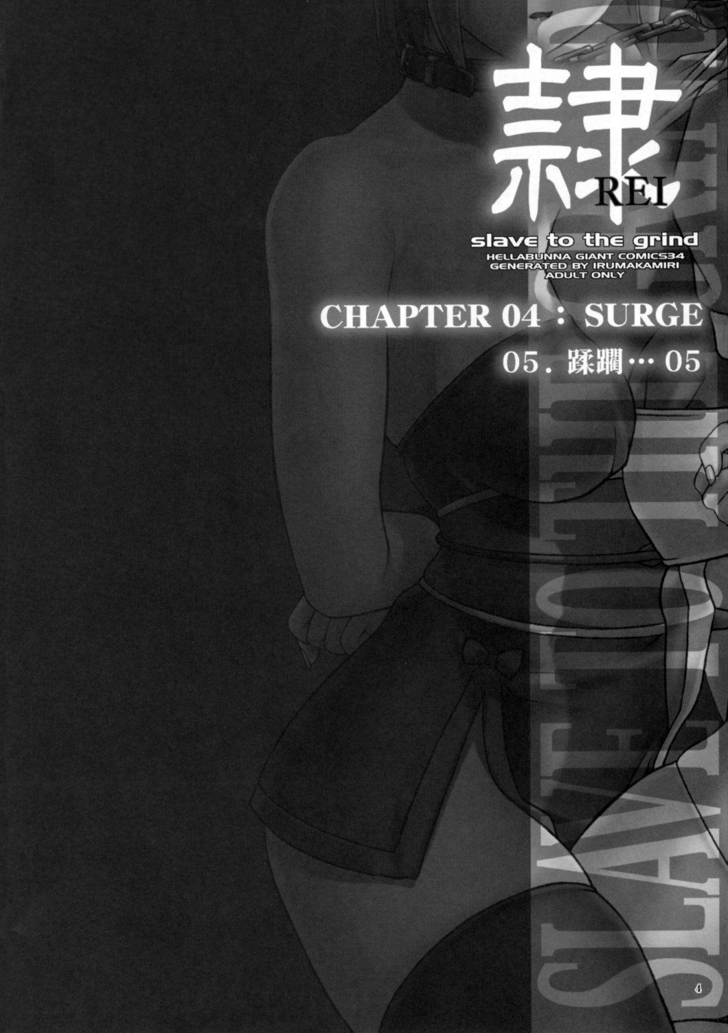 (C72) [Hellabunna (Iruma Kamiri)] REI - slave to the grind - CHAPTER 04: SURGE (Dead or Alive) [English] [Kletian] 2