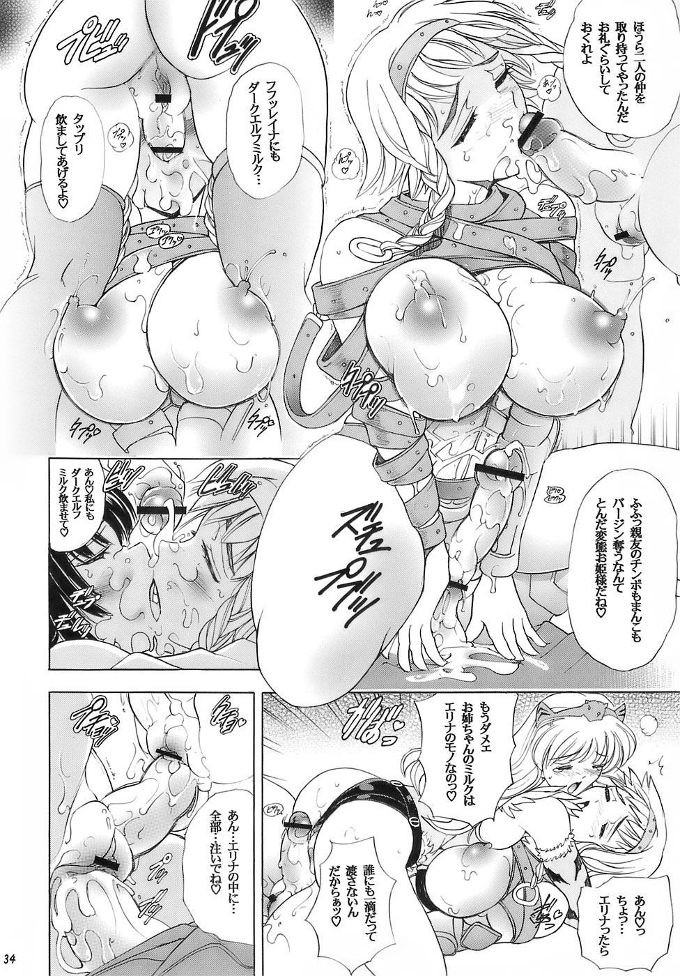 (C71) [Kawaraya Honpo (Kawaraya A-ta)] Hana - Maki no Juusan - Hana no Sumeragi (Queen's Blade) 33