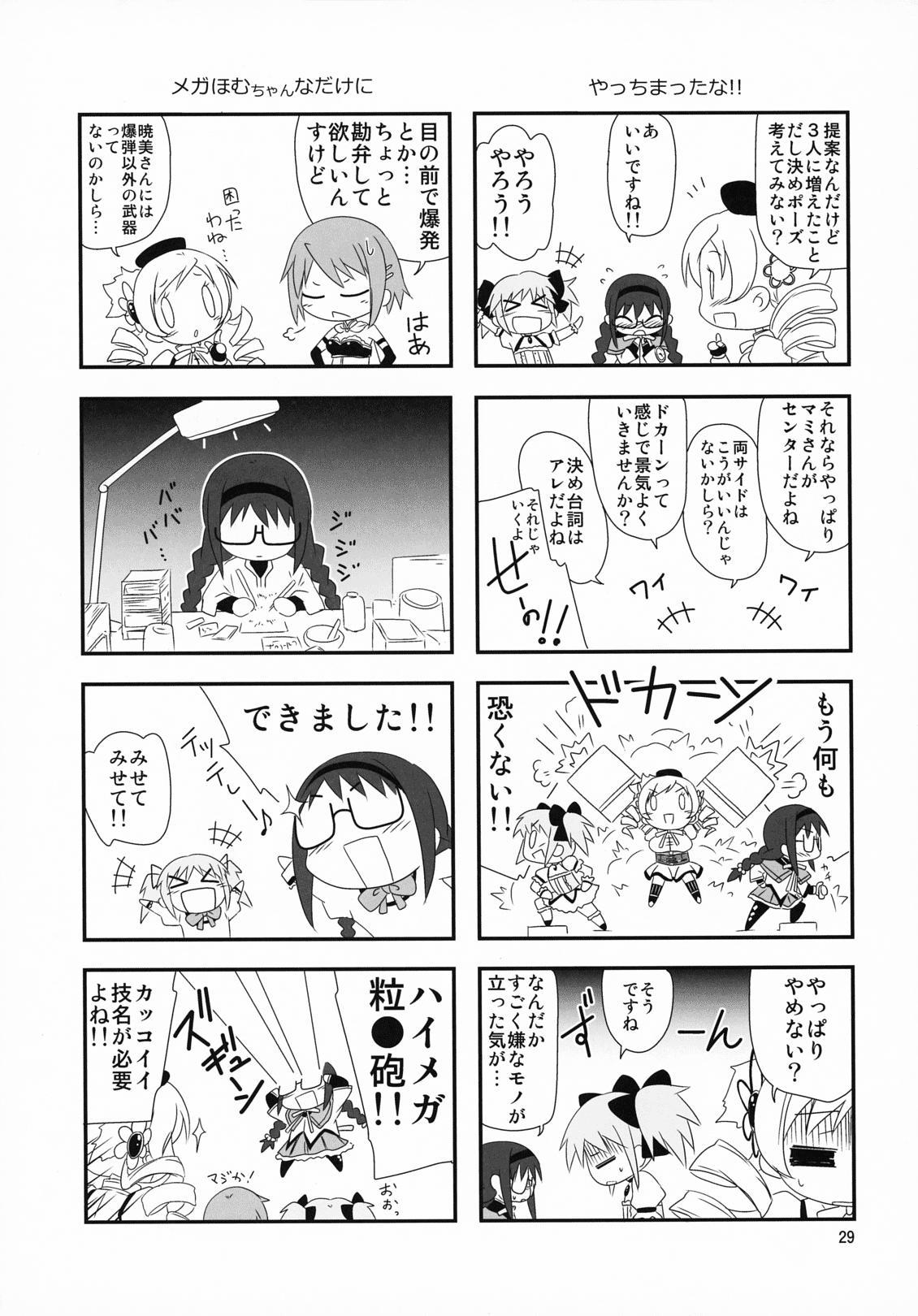 Megahomu-chan ni Kurosto Hakasetai!! 29