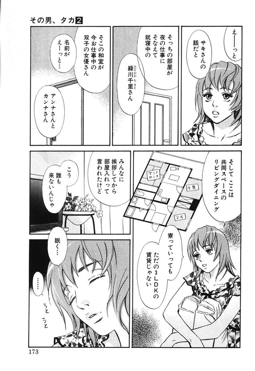 Sono Otoko, Taka ~ God Finger Densetsu vol.02 177