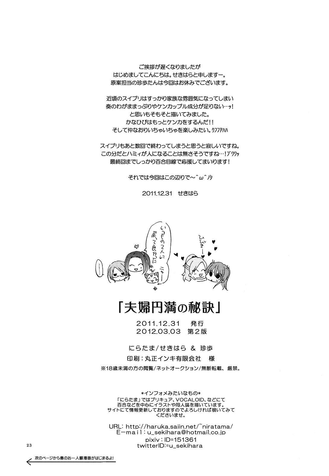 Fuufu Enman no Hiketsu | The Secret to a Happy Marriage 21