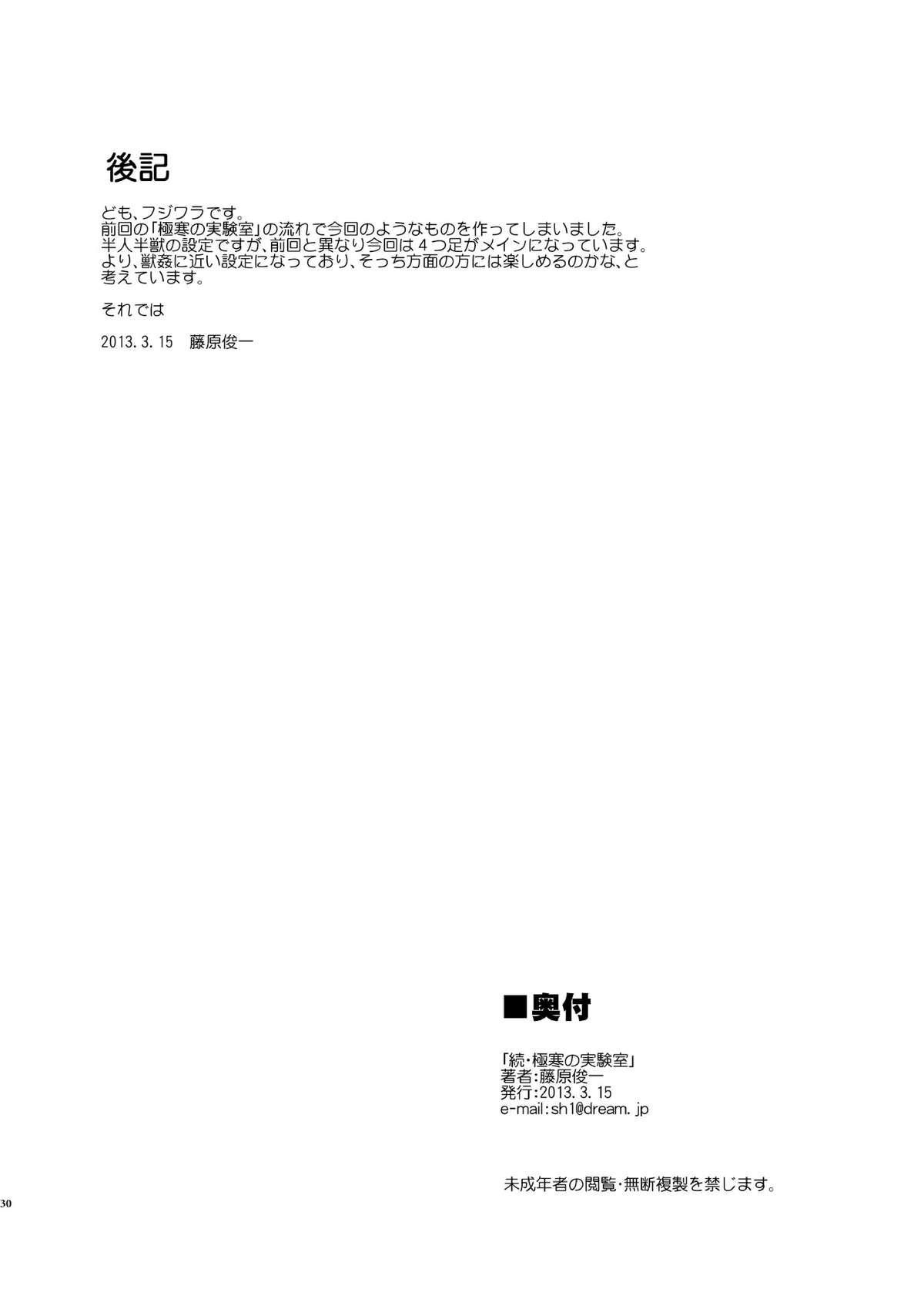 Zoku Gokkan no Jikkenshitsu 28